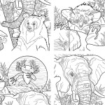 Colouring Book to Protect Endangered Animals