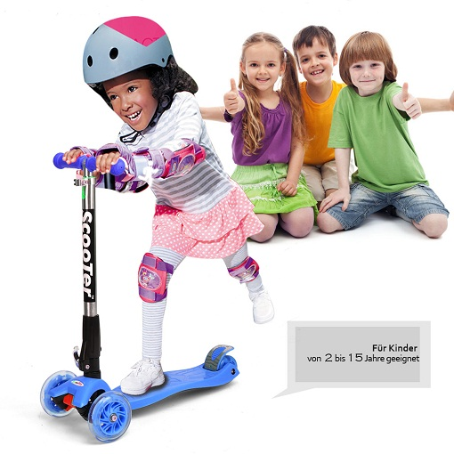 Flashing Wheel Scooter- The Latest Amongst Kids and Adults
