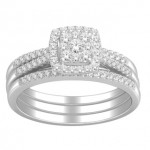 Highly affordable white gold wedding rings