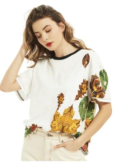 leave design tshirt