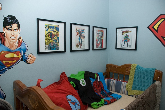 Jack's Room - Superhero Nursery