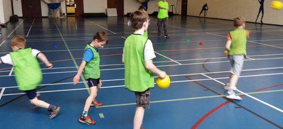 Plan a Perfect Hulk Children's Party Surrey with Dodgeball Games